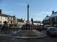 Market Bosworth, War Memorial, Warwickshire © David Barnes